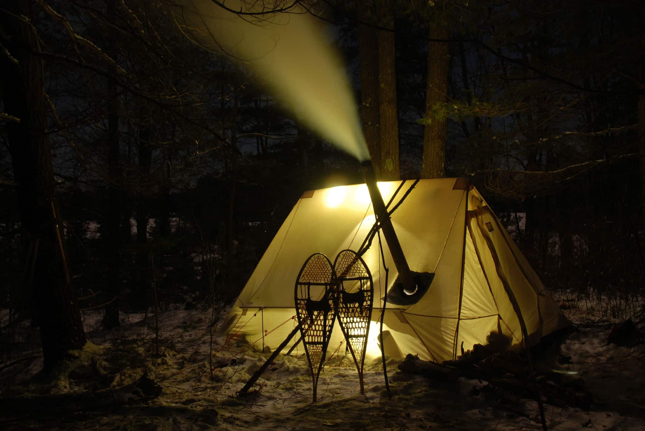 The Happy Camper: Solo Winter Camping