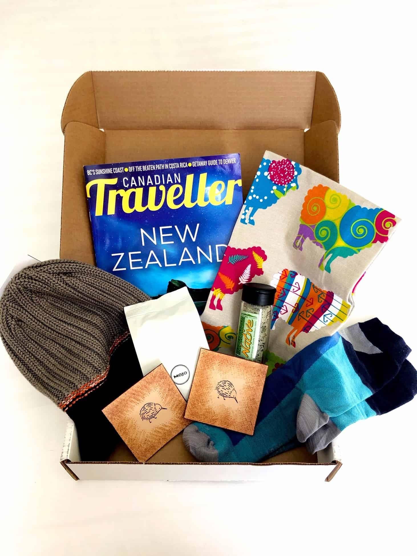 Experience The World Subscription Box Canadian Traveller