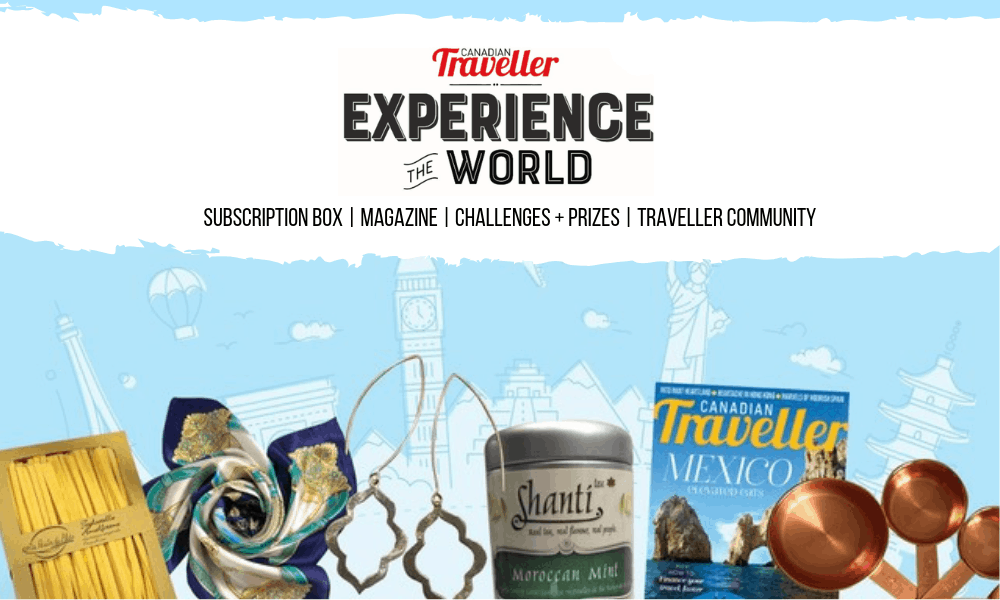 experience the world travel subscription box