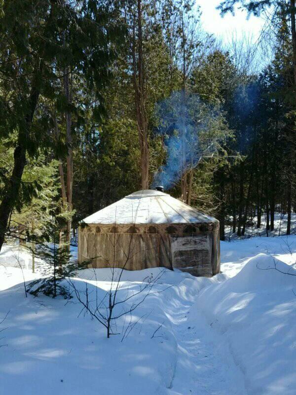 10 Incredible Camping Yurts in Ontario - Explore Magazine