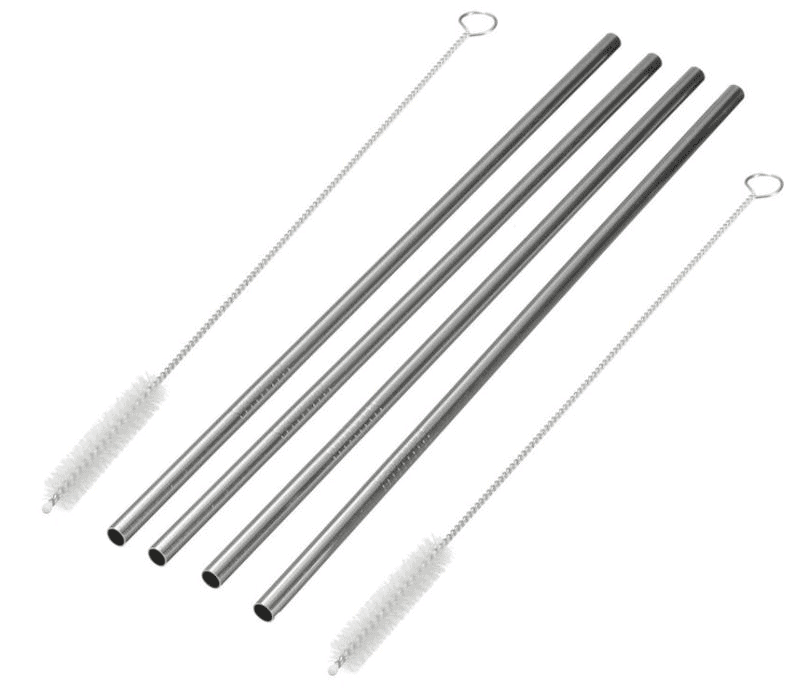 Tru Earth - Stainless Steel Straws – 4 Pack | NOW: $12.99