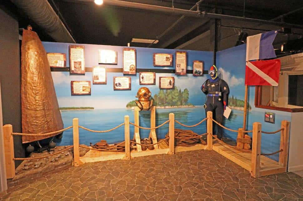 DCMM Shipwrecks of Door County Exhibit