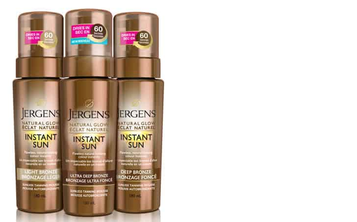 Jergens Natural Glow Sunless Tanning Mousse