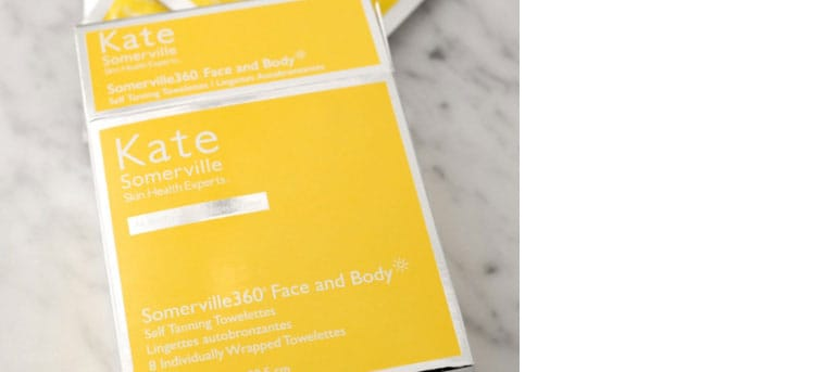 Kate Somerville Face and Body Tanning Towelettes