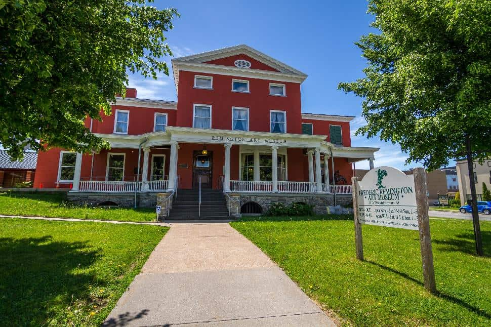 St. Lawrence County remington gallery museum