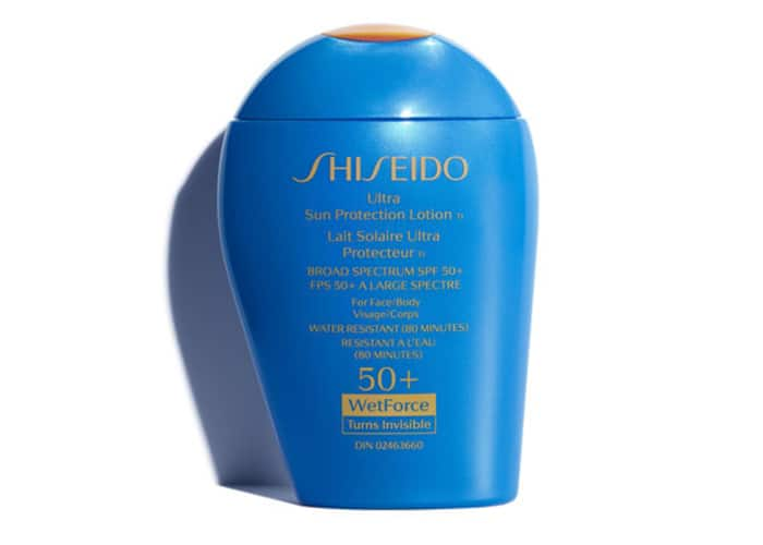 Shiseido WetForce Ultra Sun Protection SPF 50+