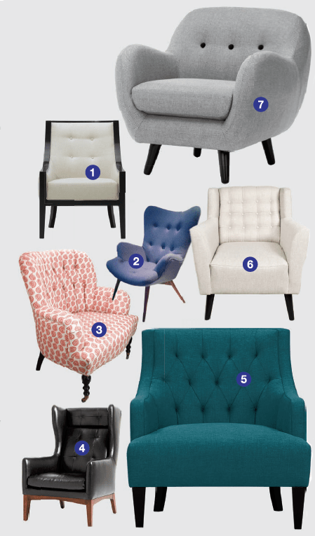 Tufted Armchairs