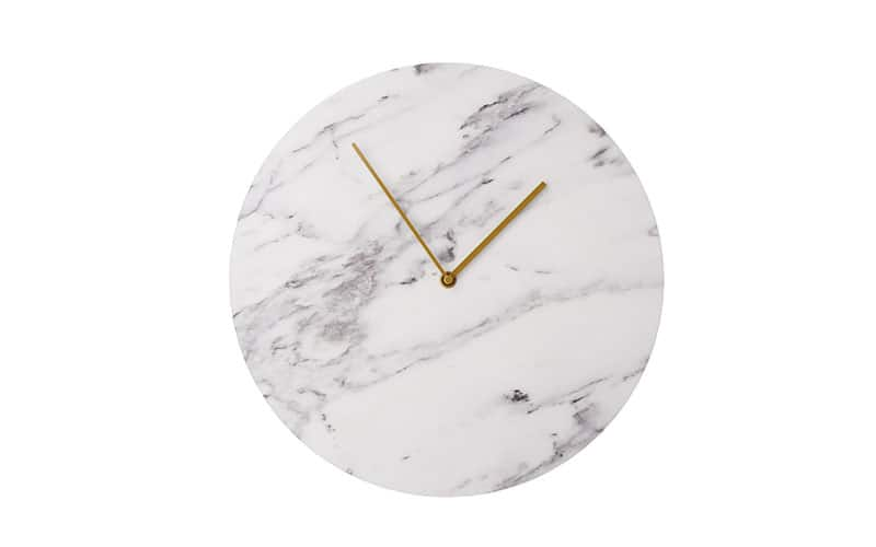 Norm-architects-marble-wall-clock