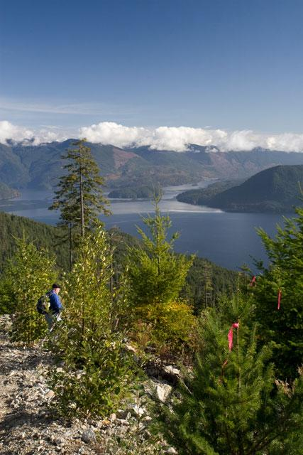 Hike The Sunshine Coast Trail