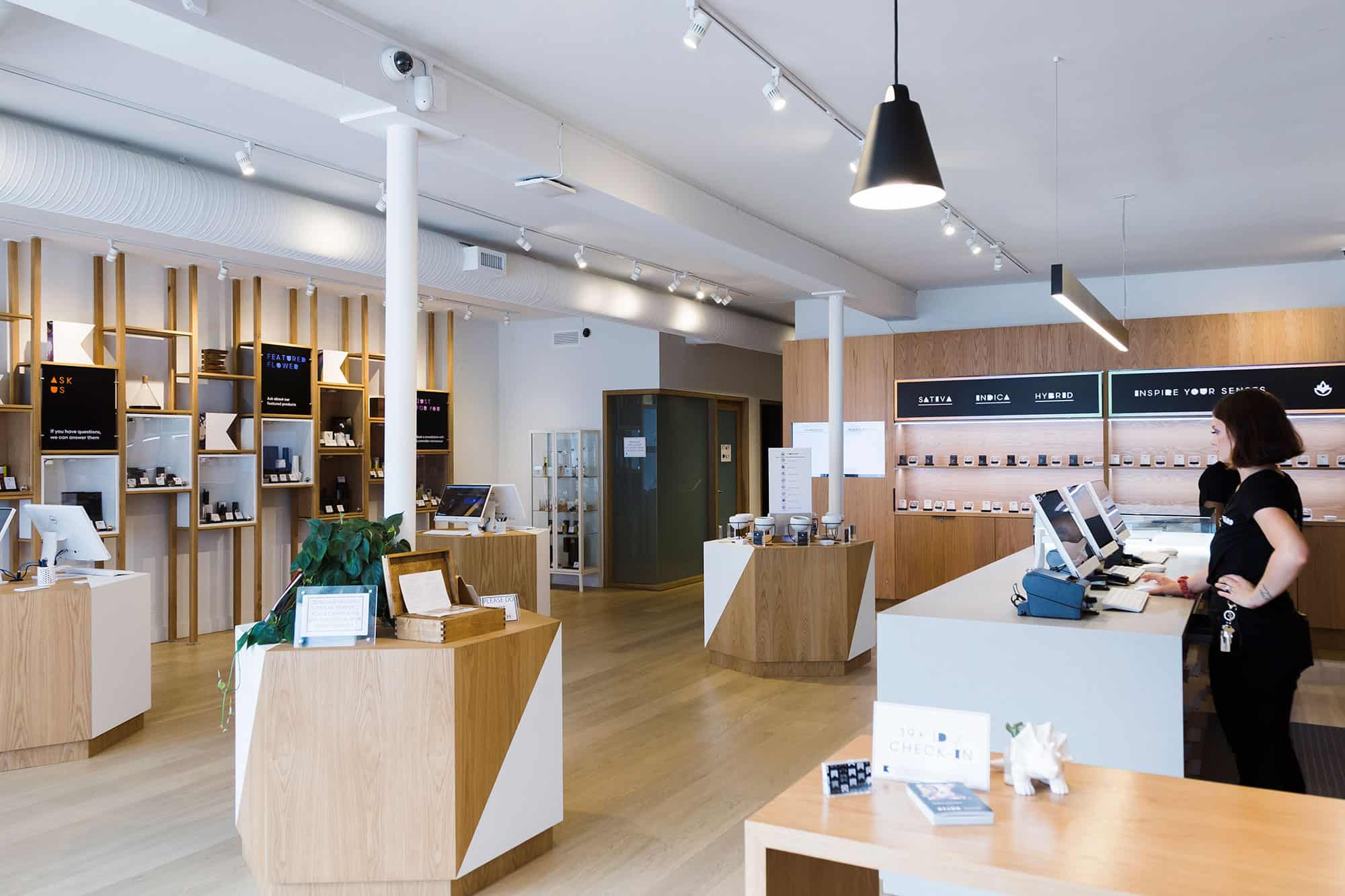 Another Day, Another Beautiful Modern Cannabis Shop Opens Its Doors