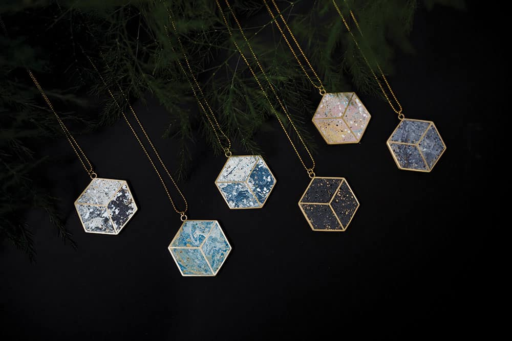 hex pendent