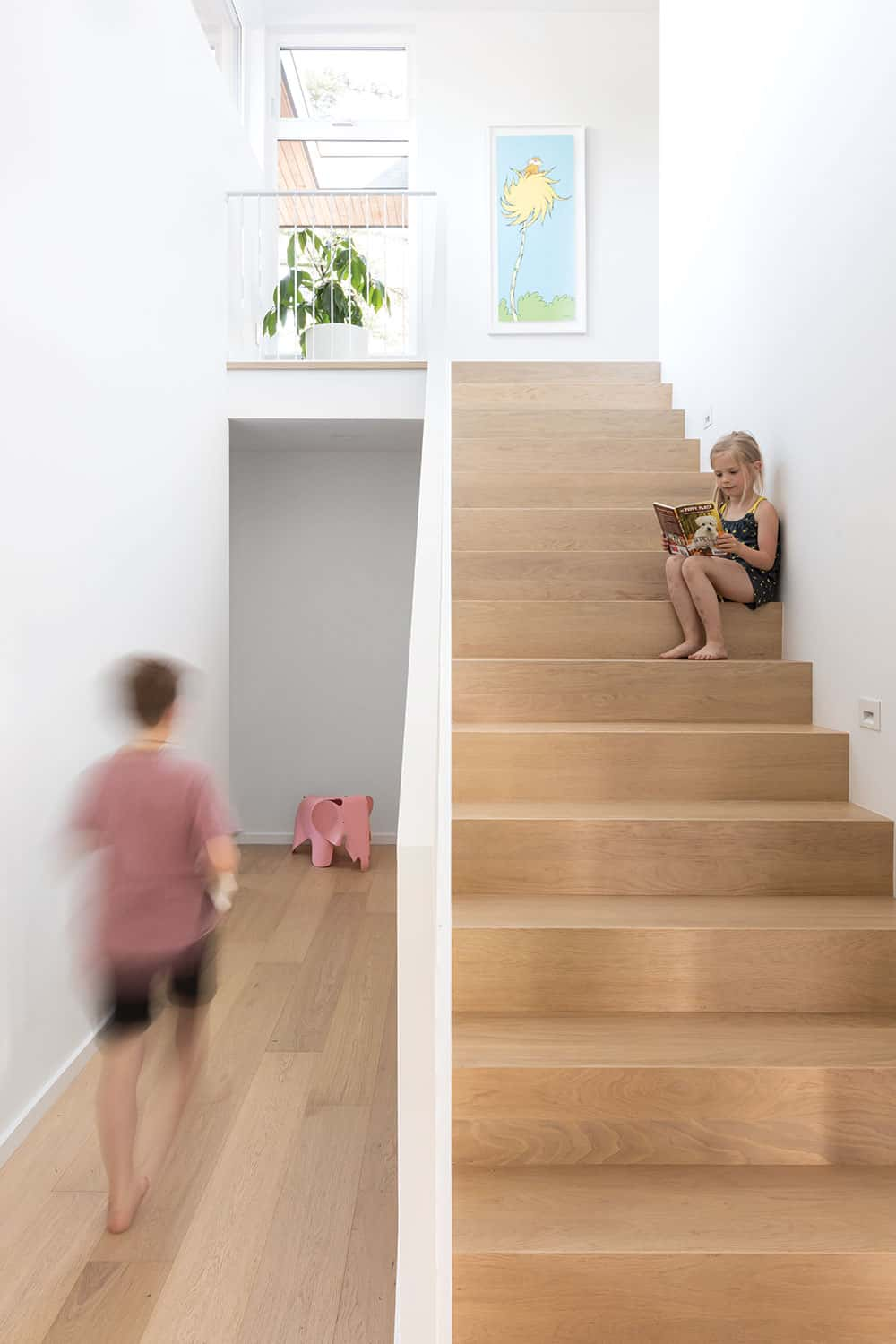 Vancouver Modern Home staircase