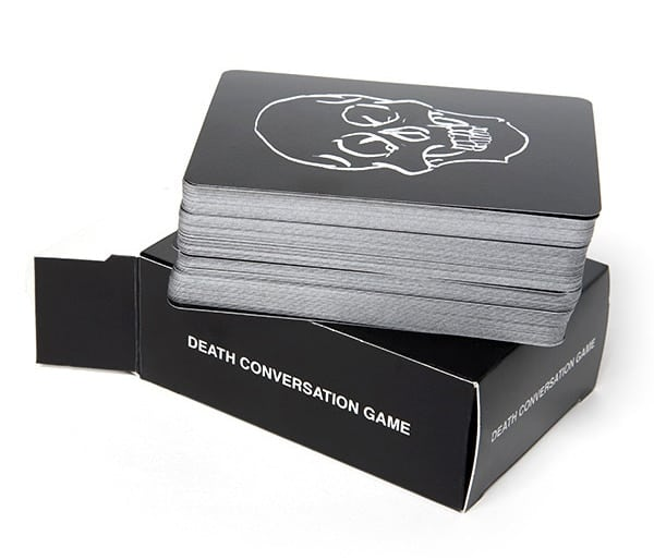 death conversation game angela fama cards
