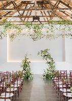 pipe shop wedding floral idea