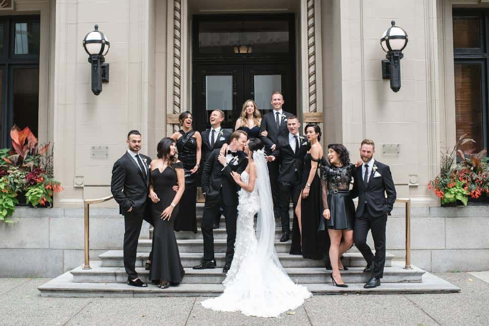 vancouver club wedding group pic