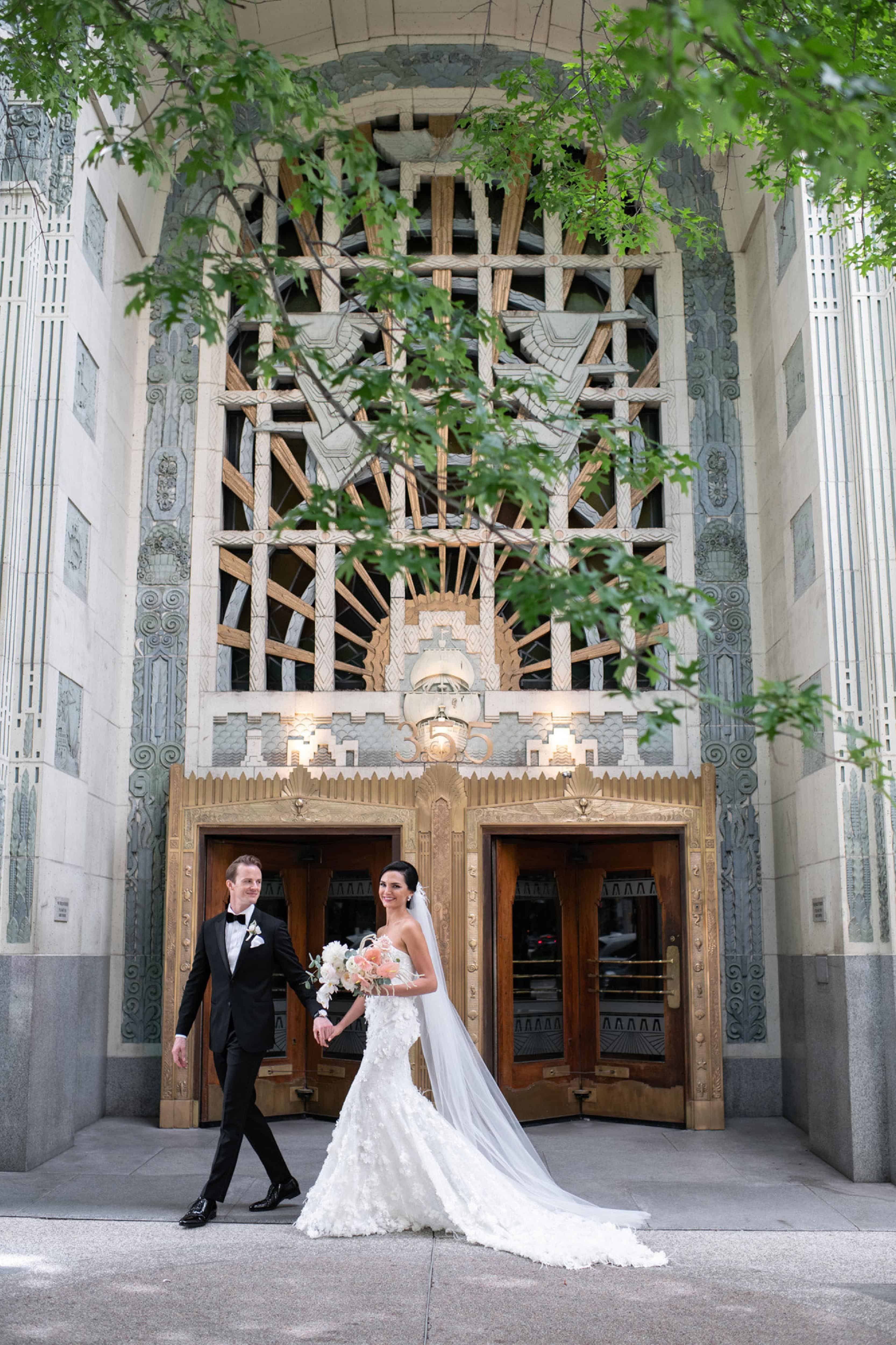 marine building wedding photo vancouver