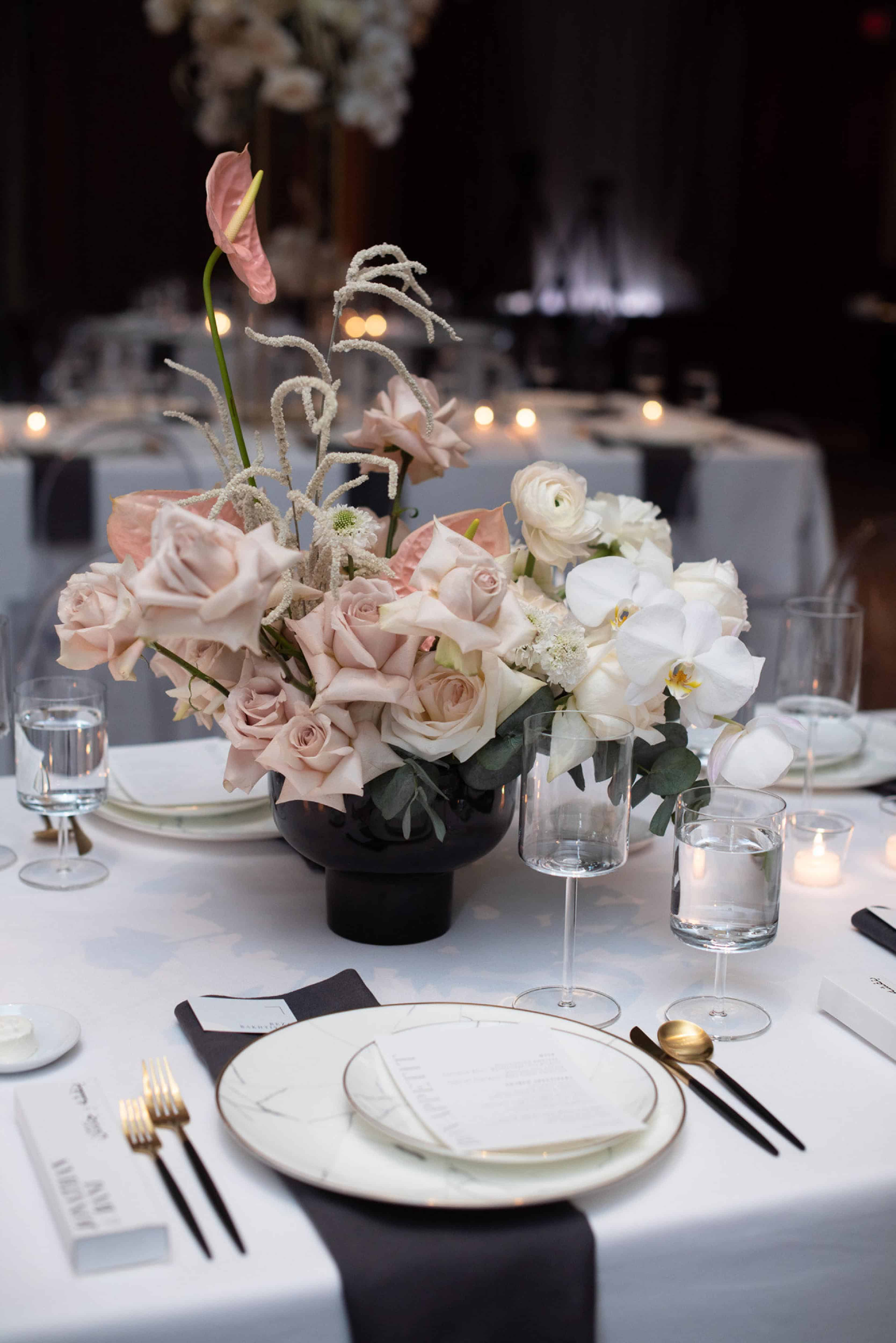 table setting vancouver club placesetting