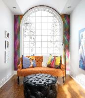 colourful sitting room