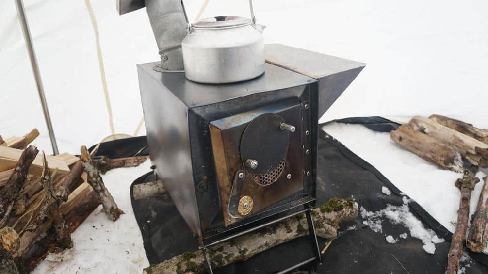 Muskrat Stove/Hot Tent - Winter Camping
