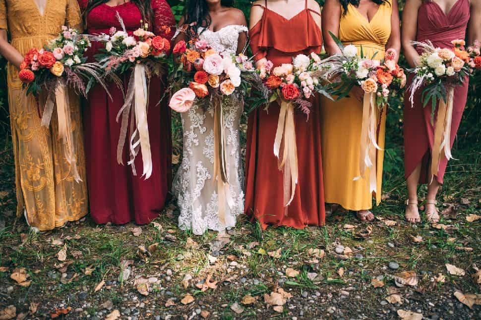 vancouver bridal party