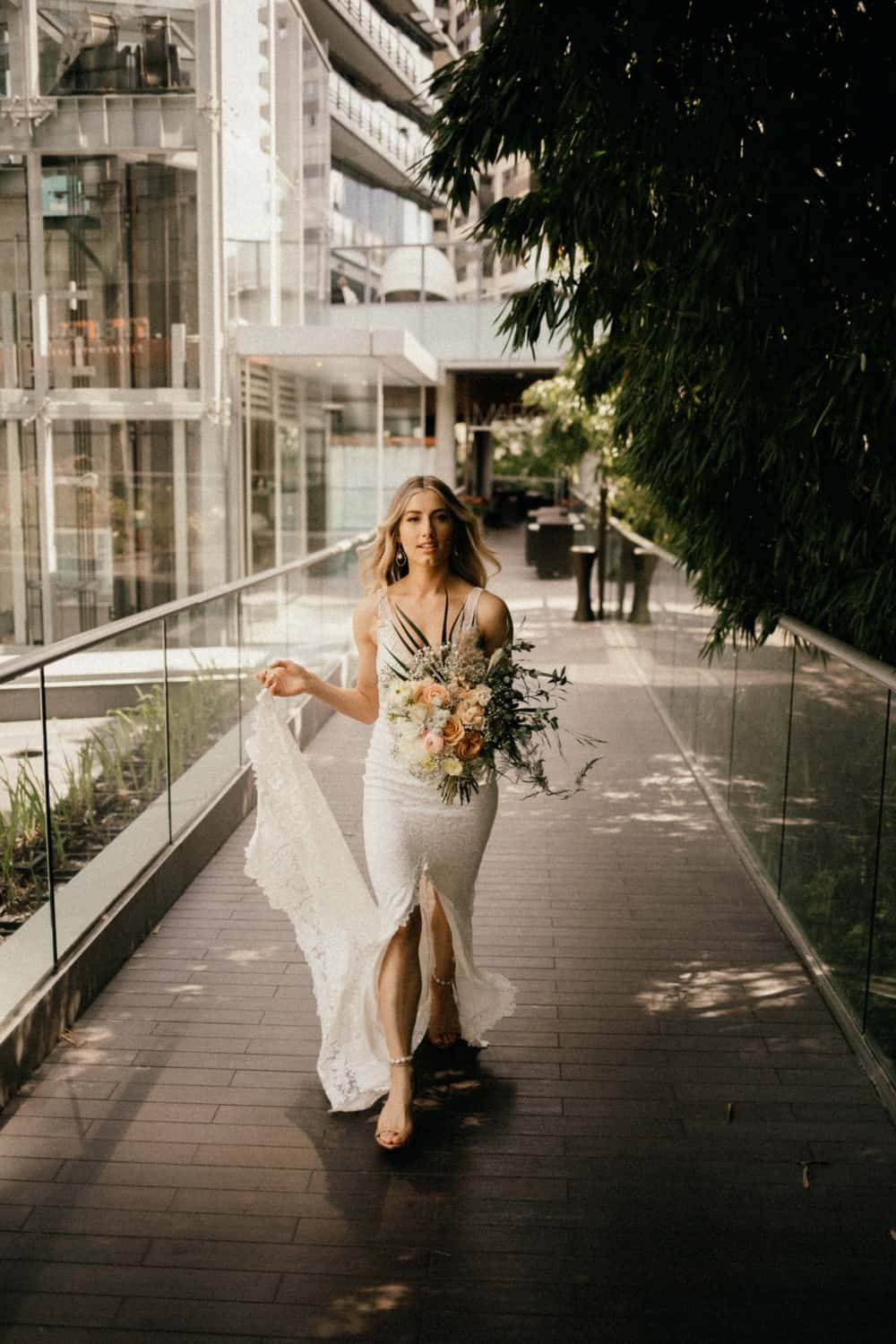 east van wedding modern