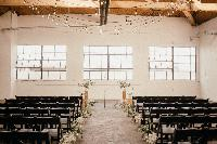 settlement building wedding