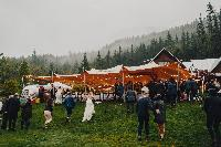 tent for wedding