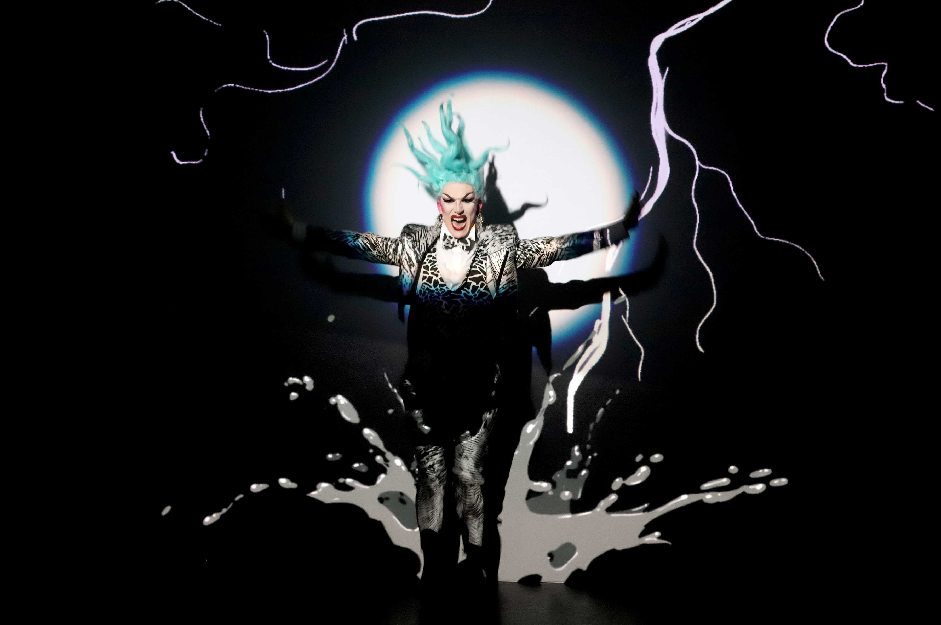 """Review: Sasha Velour's """"Smoke and Mirrors"""" is a Perfect Storm"""