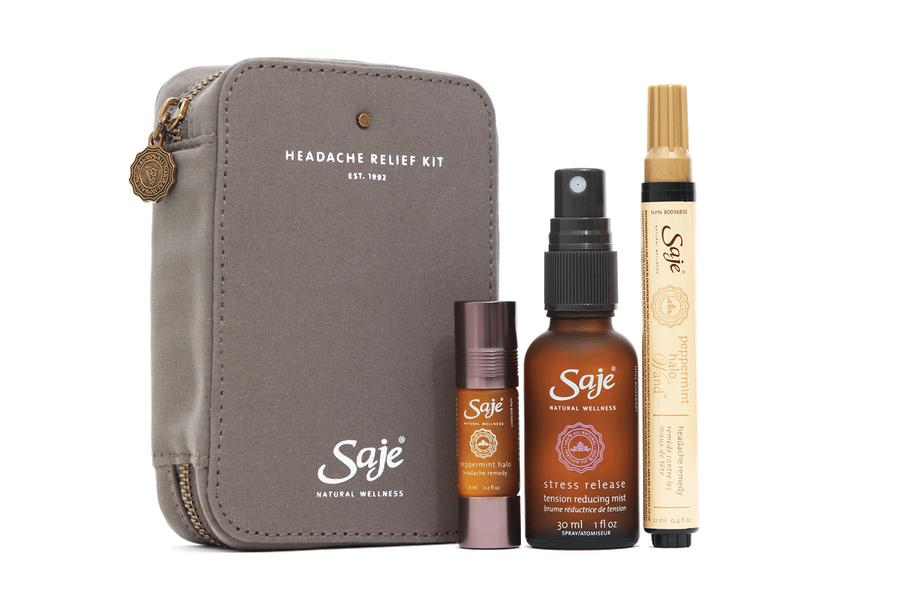 Saje, Headache Relief Kit