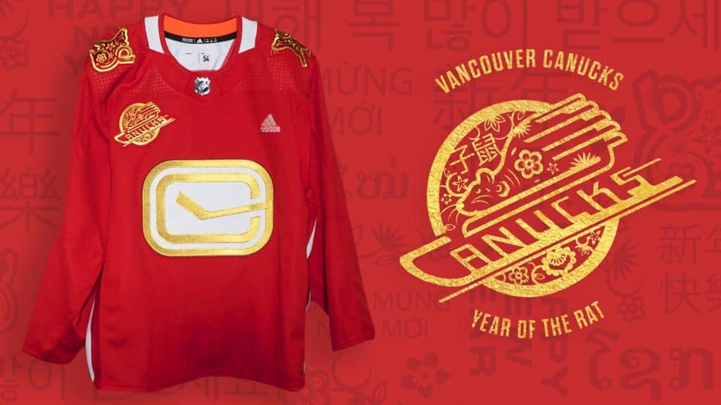 The Vancouver Canucks Released Lunar New Year Jerseys and We Need One