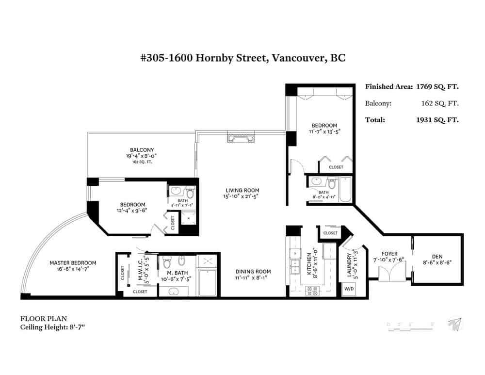 305 1600 Hornby Street - Zolo - #4.jpg