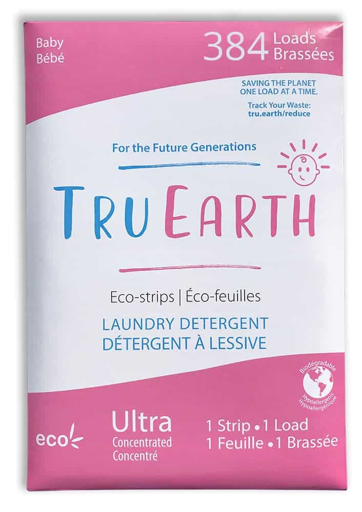Tru Earth Eco Strips Laundry Detergent Baby 384 Loads