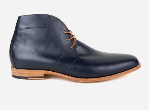 The Vancouver Chukka in navy