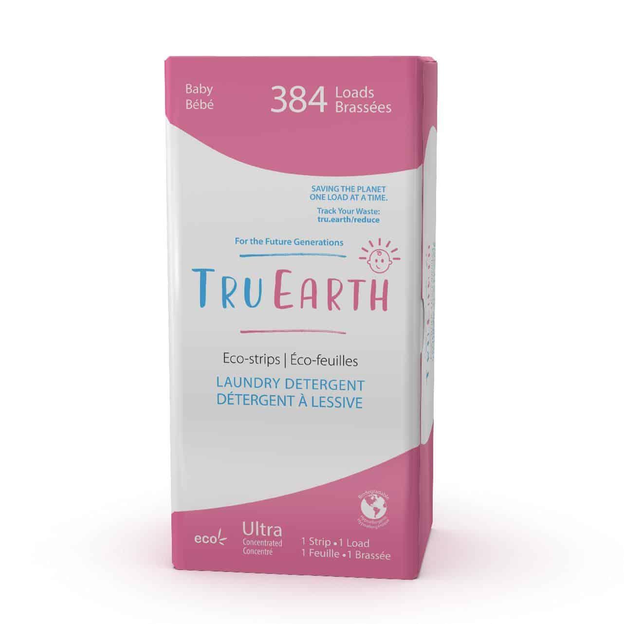 Tru Earth - Tru Earth Eco-strips Laundry Detergent (Baby) – 384 Loads | NOW: $149.00
