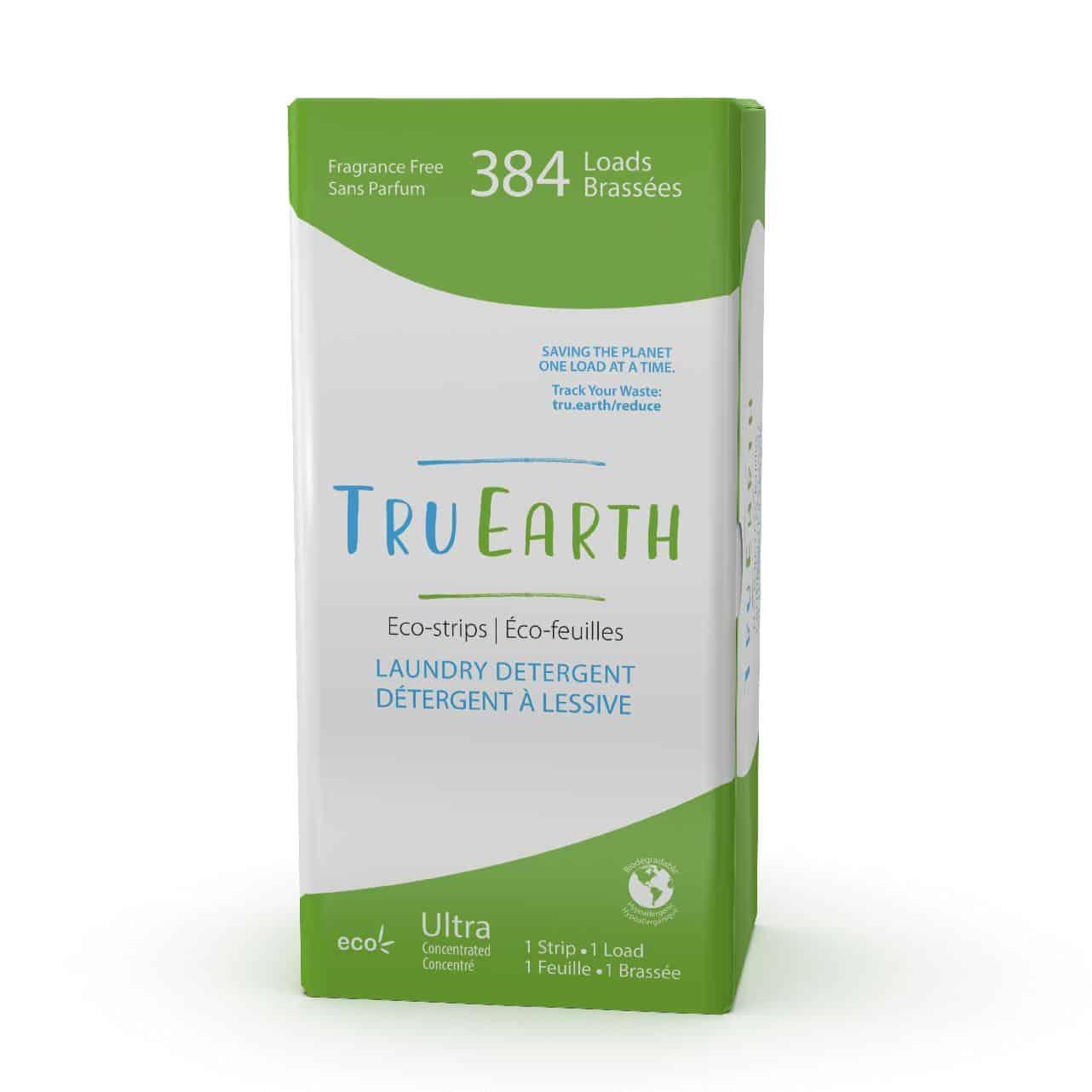 Tru Earth - Tru Earth Eco-strips Laundry Detergent (Fragrance-free) – 384 Loads | NOW: $149.00