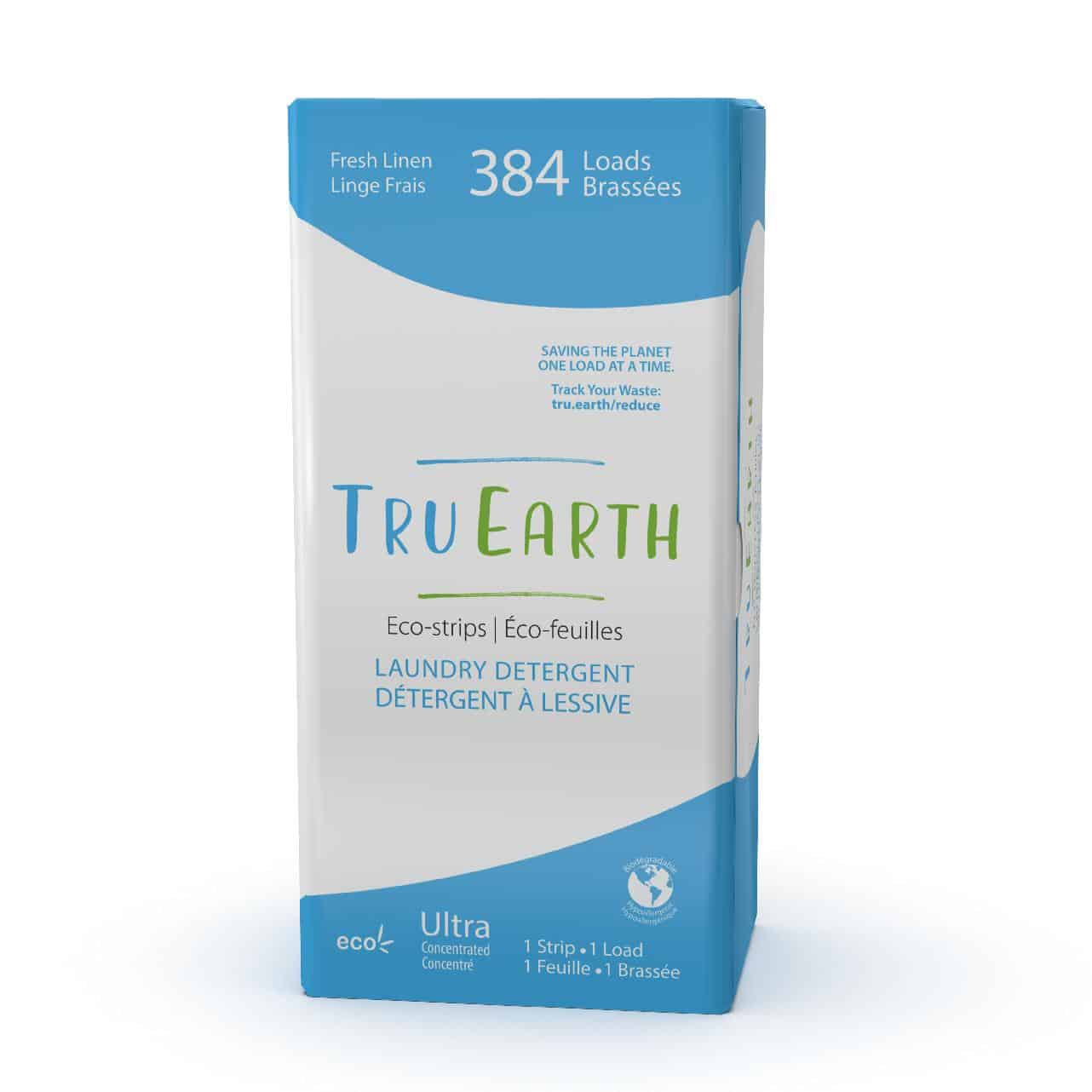 Tru Earth - Tru Earth Eco-strips Laundry Detergent (Fresh Linen) – 384 Loads | NOW: $149.00