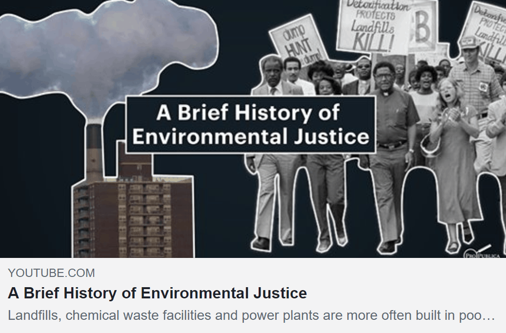A Brief History of Environmental Racism