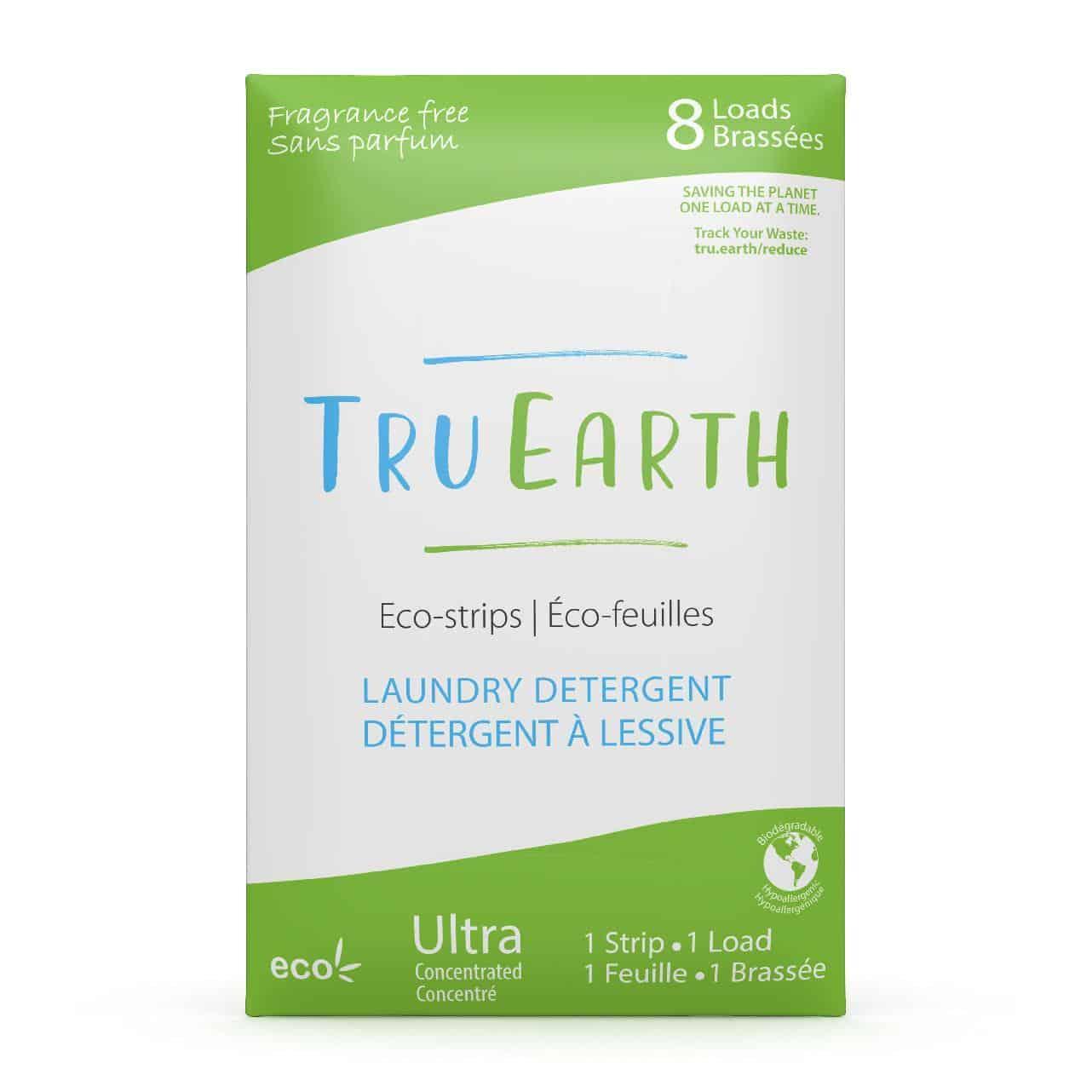 Tru Earth - Tru Earth Eco-strips Laundry Detergent (Fragrance-free) – 8 Loads | NOW: $9.95