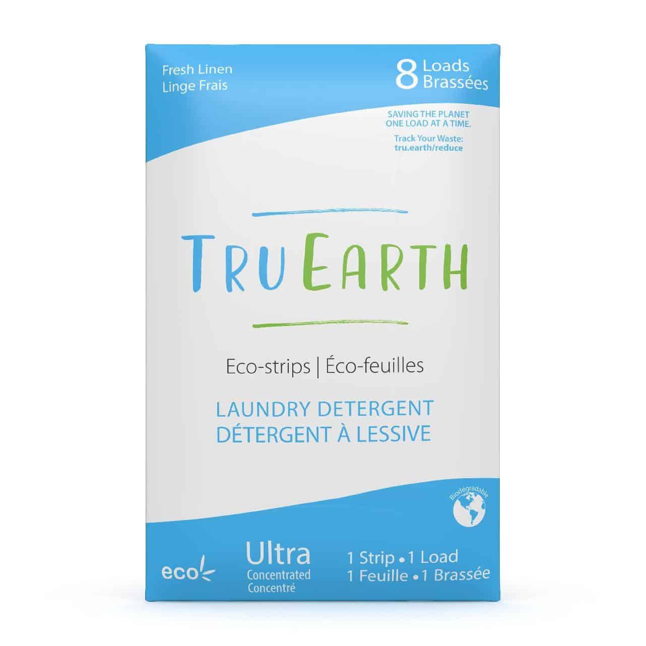 Tru Earth - Tru Earth Eco-strips Laundry Detergent (Fresh Linen) – 8 Loads | NOW: $9.95