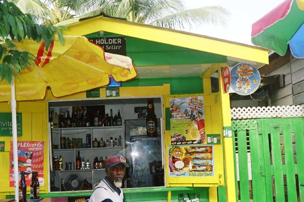 Yellow rum shoppe