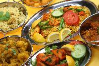 A collection of curries.