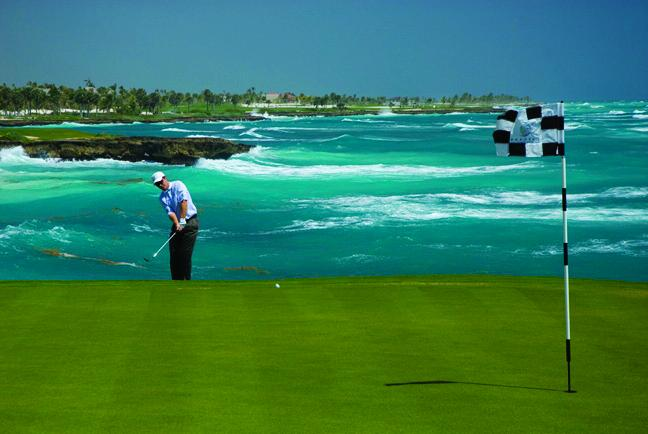 Punta Cana's challenging courses.