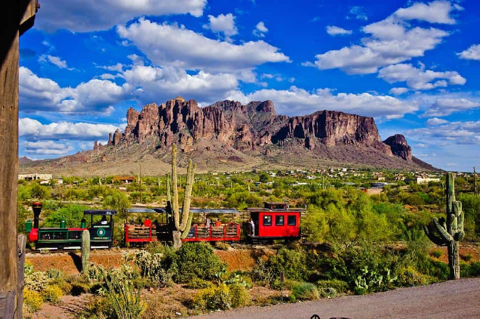 Goldfield Ghost Town Train