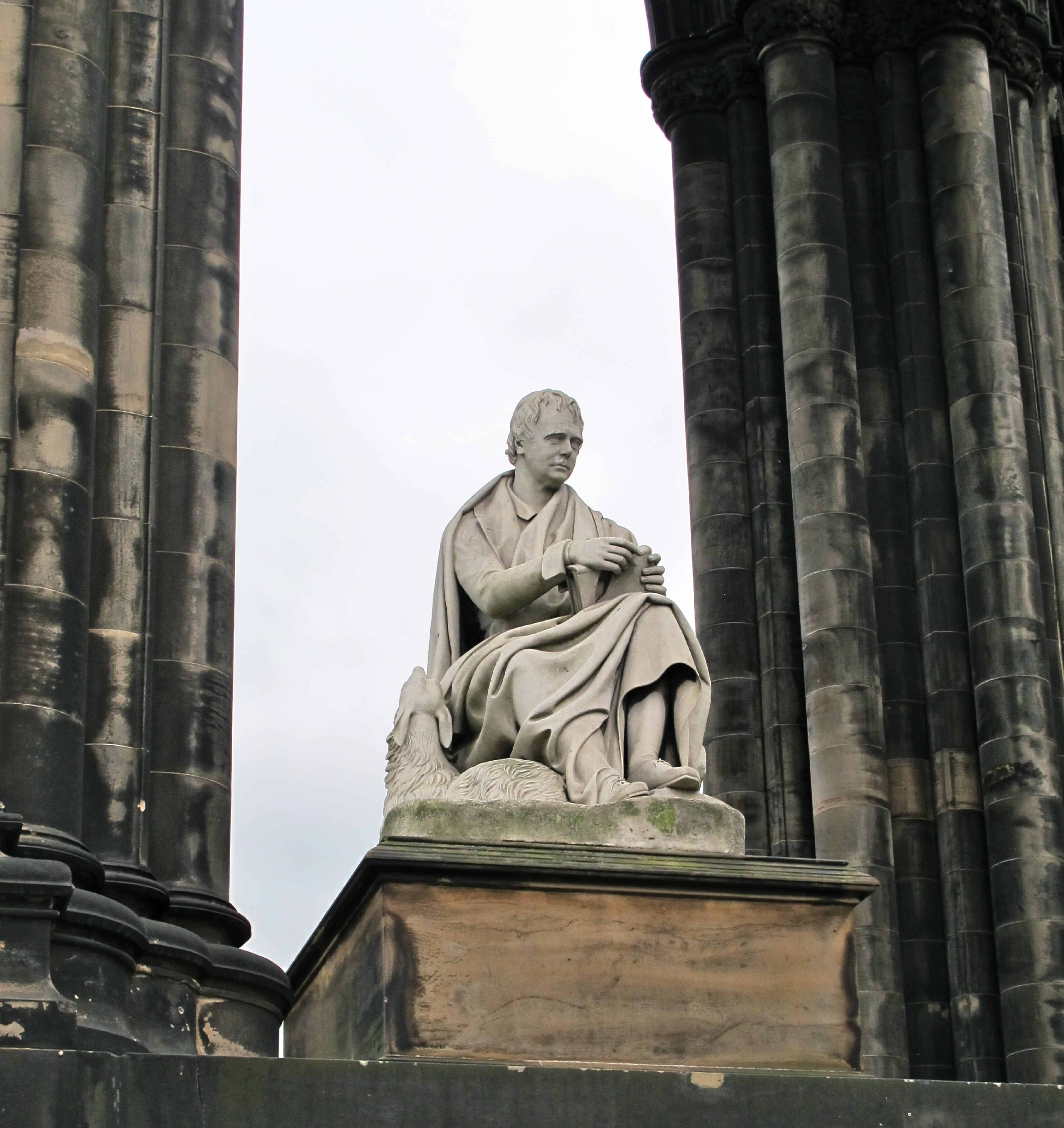 The Sir Walter Scott Monument
