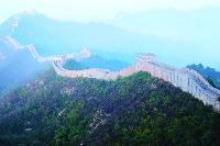 The sheer size and length of the Great Wall of China