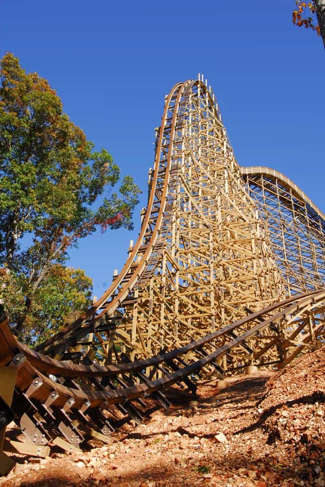 Silver Dollar City's Outlaw Run