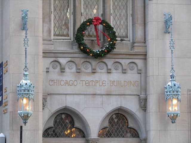 chicago christmas shopping