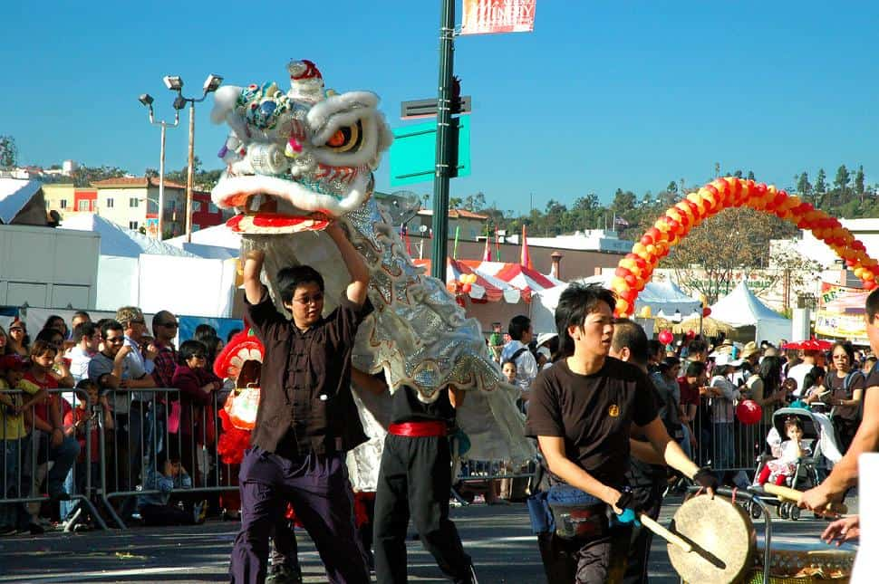 Chinese New Year celebrations, Los Angeles.