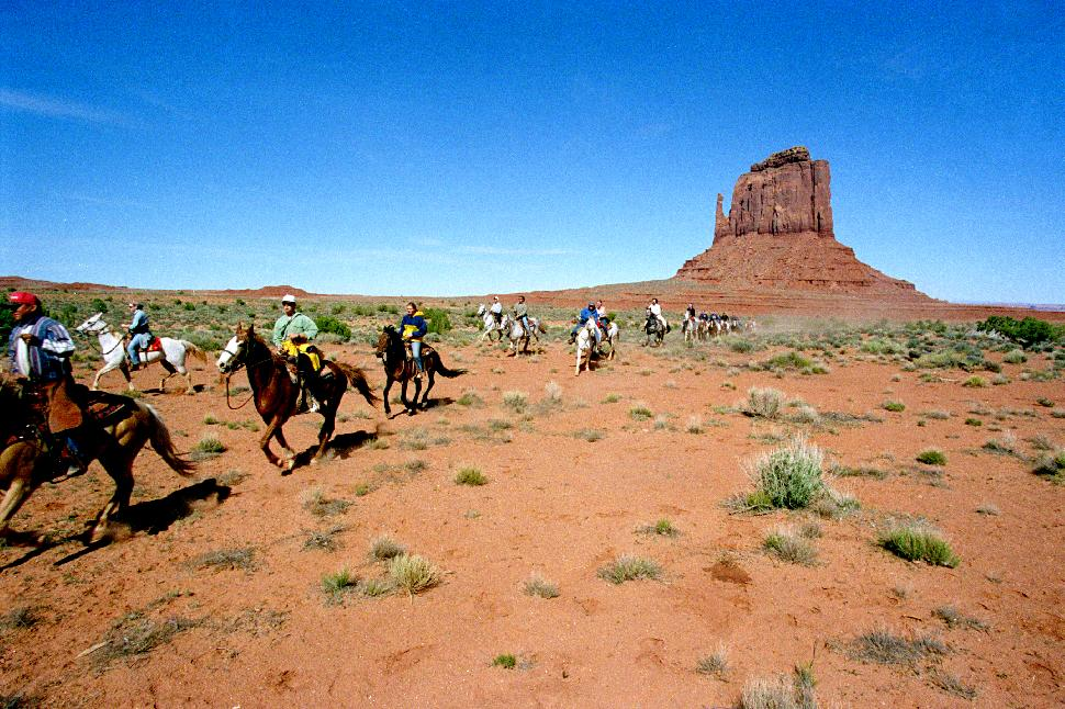 Monument Valley Horses