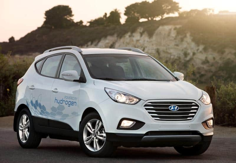 Tucson Fuel Cell SUV